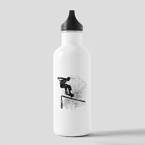 Skateboard Rail Stainless Water Bottle 1.0L