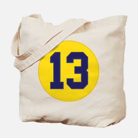 Vintage 'Championship 13' (w/stitched appeal) Tote