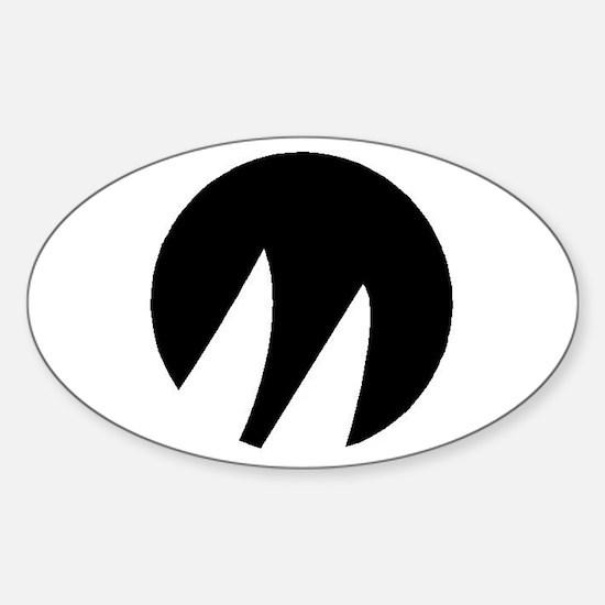 Moore 24 Sticker (Oval)