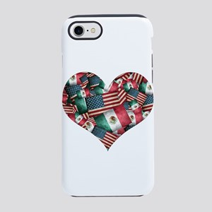 Mexican/American Flags iPhone 7 Tough Case