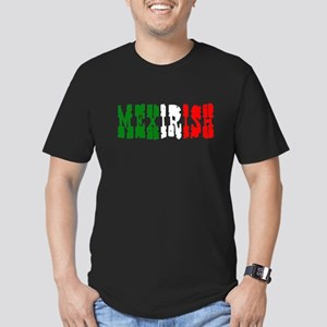 Mexirish Men's Fitted T-Shirt (dark)