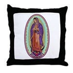 2 Lady of Guadalupe Throw Pillow