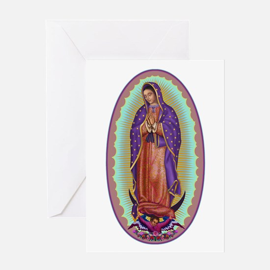 2 Lady of Guadalupe Greeting Card