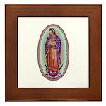 2 Lady of Guadalupe Framed Tile