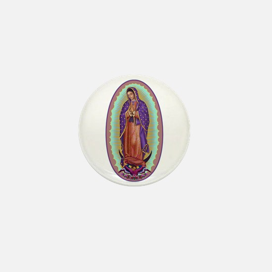 2 Lady of Guadalupe Mini Button