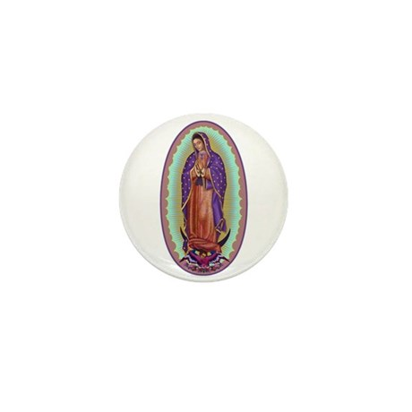 2 Lady of Guadalupe Mini Button (100 pack)