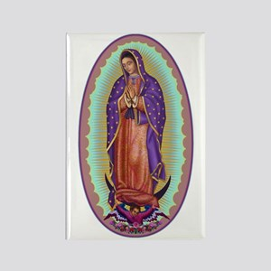 2 Lady of Guadalupe Rectangle Magnet