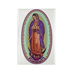 2 Lady of Guadalupe Rectangle Magnet (100 pack)