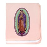 2 Lady of Guadalupe baby blanket