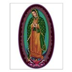 3 Lady of Guadalupe Small Poster