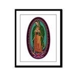 3 Lady of Guadalupe Framed Panel Print