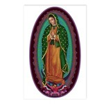 3 Lady of Guadalupe Postcards (Package of 8)