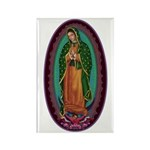 3 Lady of Guadalupe Rectangle Magnet