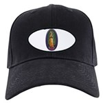 4 Lady of Guadalupe Black Cap