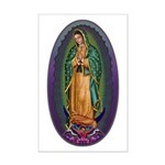 4 Lady of Guadalupe Mini Poster Print