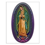 4 Lady of Guadalupe Small Poster
