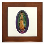 4 Lady of Guadalupe Framed Tile