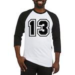 Varsity Uniform Number 13 Baseball Jersey