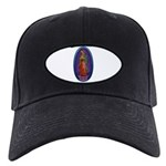 5 Lady of Guadalupe Black Cap