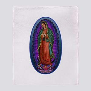 5 Lady of Guadalupe Throw Blanket