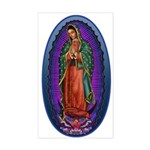 5 Lady of Guadalupe Sticker (Rectangle)
