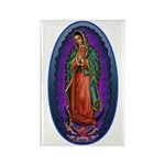 5 Lady of Guadalupe Rectangle Magnet (100 pack)