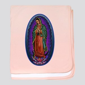 5 Lady of Guadalupe baby blanket