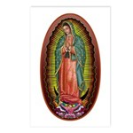 6 Lady of Guadalupe Postcards (Package of 8)