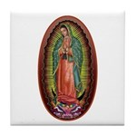 6 Lady of Guadalupe Tile Coaster