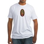 6 Lady of Guadalupe Fitted T-Shirt