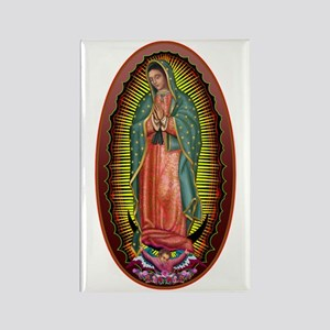 6 Lady of Guadalupe Rectangle Magnet