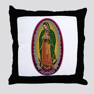 7 Lady of Guadalupe Throw Pillow