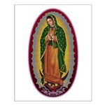 7 Lady of Guadalupe Small Poster