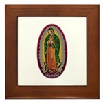 7 Lady of Guadalupe Framed Tile