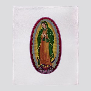 7 Lady of Guadalupe Throw Blanket