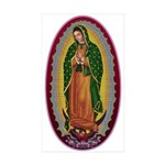 7 Lady of Guadalupe Sticker (Rectangle 10 pk)