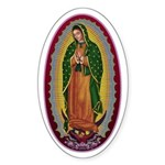 7 Lady of Guadalupe Sticker (Oval)