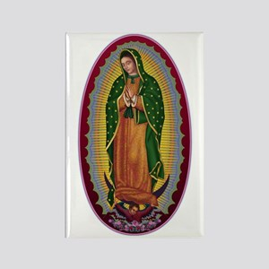 7 Lady of Guadalupe Rectangle Magnet