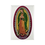 7 Lady of Guadalupe Rectangle Magnet (10 pack)