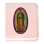 7 Lady of Guadalupe baby blanket