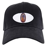 8 Lady of Guadalupe Black Cap