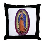 8 Lady of Guadalupe Throw Pillow