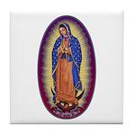8 Lady of Guadalupe Tile Coaster