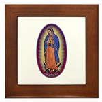 8 Lady of Guadalupe Framed Tile