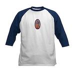 8 Lady of Guadalupe Kids Baseball Jersey