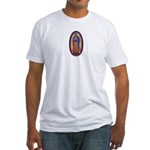 8 Lady of Guadalupe Fitted T-Shirt