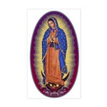 8 Lady of Guadalupe Sticker (Rectangle)