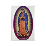 8 Lady of Guadalupe Rectangle Magnet (100 pack)
