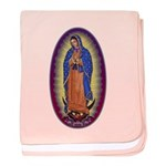 8 Lady of Guadalupe baby blanket