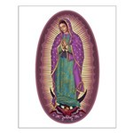 9 Lady of Guadalupe Small Poster